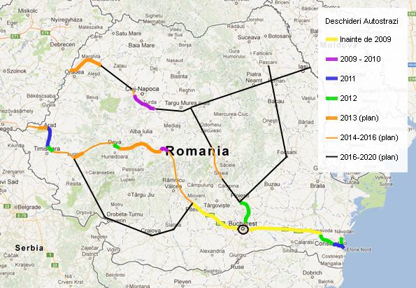 Articol 130km Ro Review Autostrazi In 2012 Si Perspective Viitoare